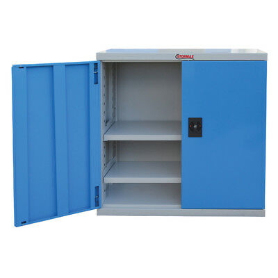 Stormax Industrial Cabinet 1/2 Height Shelf Unit (900x900x450mm) HxWxD - Shippin
