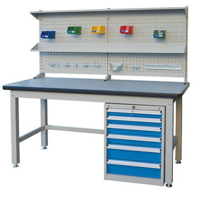 Stormax Industrial Work Bench - 2100mm long - Shipping Aust Wide