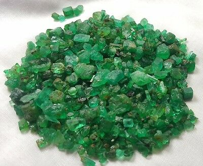 180 cts Natural Emerald Crystals @ Panjsher Afghanistan wow  !!!!