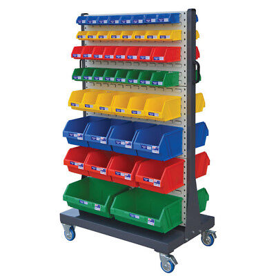Stormax Lourve Panel Trolley Kit (with Stor-pak bins exactly as shown in image)