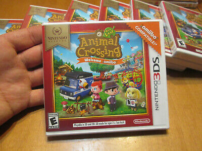 Animal Crossing New Leaf Welcome Amiibo Nintendo Selects Nintendo 3DS COMPATIBLE