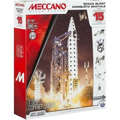 Meccano Multimodels 15 Model Set Space Quest