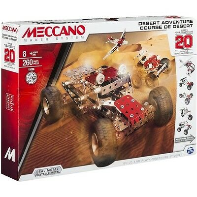 Meccano Multimodels 20 Model Set Desert Adventure