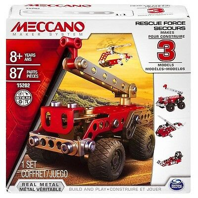 Meccano Multimodels 3 Model Set Rescue Squad