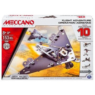 Meccano Multimodels 10 Model Set Flight Adventure