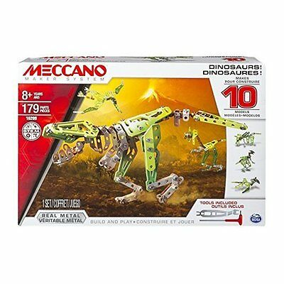 Meccano Dinosaurs 10 Model Kit