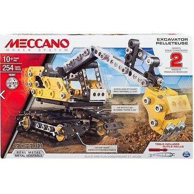Meccano Excavator 2 Model Kit