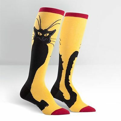Sock it to me Women's Knees Sock Chat Noir