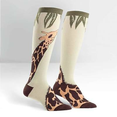 Sock it to me Women's Knees Sock Giraffe