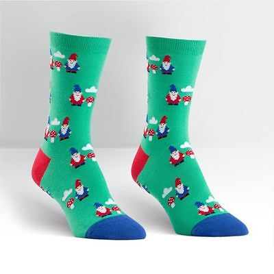 Sock it to me Women's Crew Sock Gnome & Mushroom