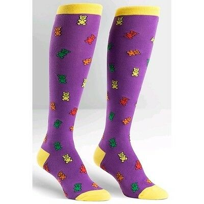 Sock it to me Women's Knee High Socks Gummy Bears