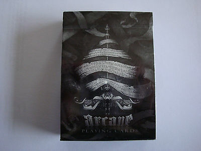 Bicycle Arcane Black Deck Of Playing Cards Poker Size Ellusionist Magic Tricks
