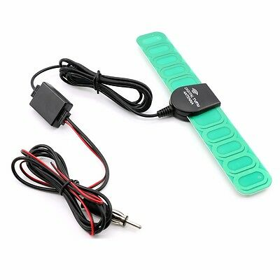Car Vehicle Digital AM/FM Radio Antenna Aerial Signal Amplifier Booster 12V UK