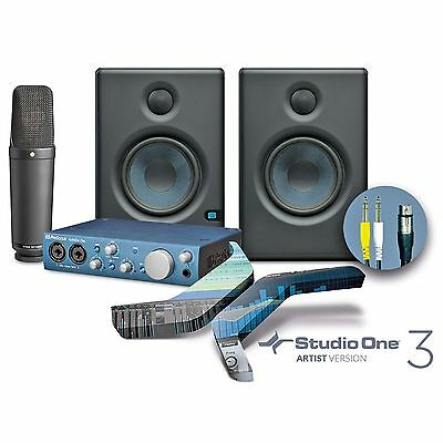 Rode NT1000 + Presonus iTwo Audio Interface + Eris 4.5 Monitor Boxen