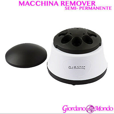 Macchina Remover Smalto Semipermanente Uv Steam Gel Removing Per Estetista