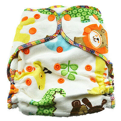 New Top Quality Minky Hairy Modern Cloth Nappies Baby Boy Nappy With Two Liners