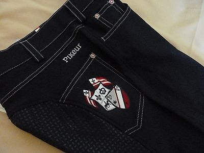 Pikeur Barinja GRIP  Ladies Full seat jeans breeches  D38/US26/GB24  (UK10)