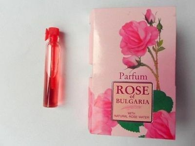 Rose of BULGARIA - Perfume  with rose water in a small glass bottle