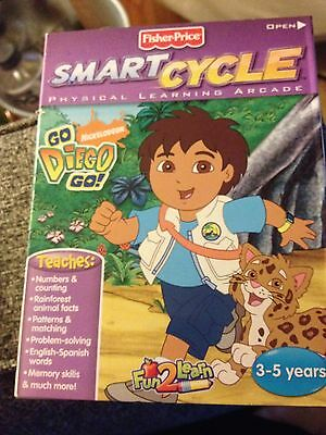 Smart Cycle Learning Arcade Game-Go Diego Go-L4878-NEW