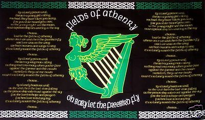 Irish Republican Fields Of Athenry 5Ft X 3Ft Flag With Brass Eyelets Ireland