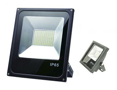 Faro Led Smd Slim Faretto Spot Alta Luminosita Luce Lampada W Watt Ip Waterproof