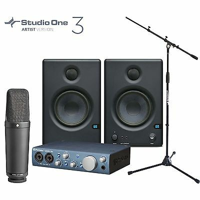 Rode Presonus Studio Recording Bundle + KEEPDRUM Mikrofonständer