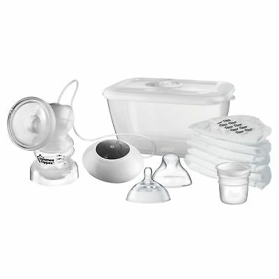 Tommee Tippee Closer to Nature Electric Breast Pump White NEW