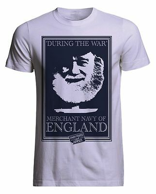 Only Fools and Horses Uncle Albert Merchant Navy of England Official T Shirt