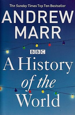 A History of the World BRAND NEW BOOK by Andrew Marr (Paperback 2013)