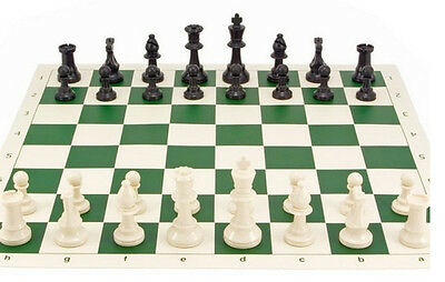 Chess set board and bag - Tournament quality