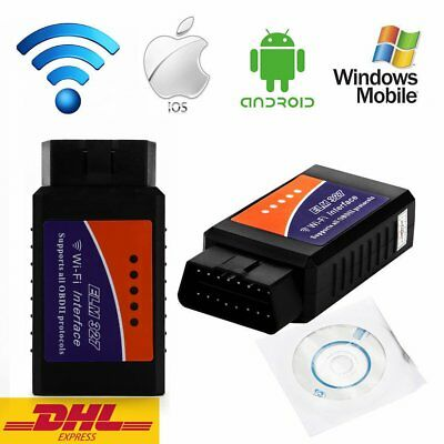 WiFi ELM327 OBD2 OBDII Auto Diagnose Interface Scanner Android iOS iPhone iPad L