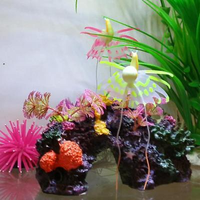 Fantasie Escargot Artificielle en Silicone Décor Pr Aquarium Poisson • EUR 4,61