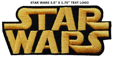 Star Wars Episode Movies Classic Logo Game Sew Iron on Patch Embroidered #0807