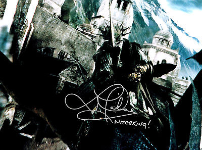 LAWRENCE MAKOARE LORD OF THE RINGS HAND SIGNED PHOTO AUTHENTIC GENUINE COA 16x12