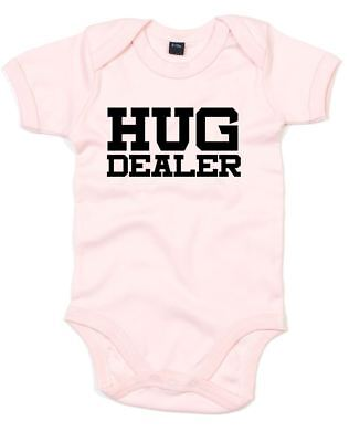 Brand88 - Hug Dealer, Printed Baby Grow