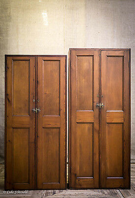 Edwardian Pitch Pine School Lockers