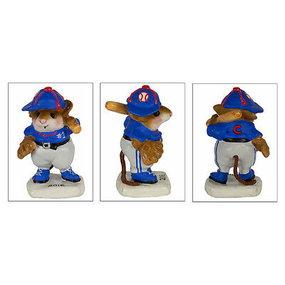 Wee Forest Folk Batter Up! Chicago Cubs Edition MS15CC NIB