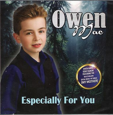 Owen Mac Especially For You CD 2016 Play Me Waltz of The Angels. My Mother