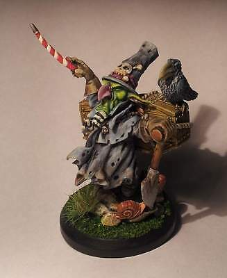 Cadwallon Goblin Gravedigger (from Paul Bonner picture) - perfectly painted