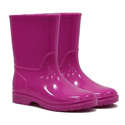 Town & Country TFW396 Kids Wellies Pink Size 12