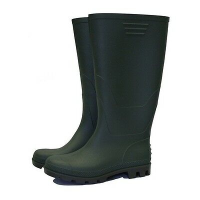 Town & Country TFW836 Essentials Half Length Wellington Boots Green UK Size 11