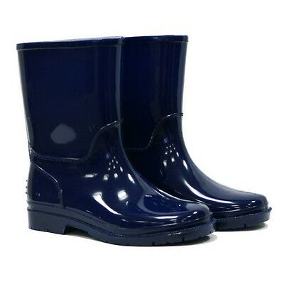 Town & Country TFW381 Kids Wellies Navy Size 12