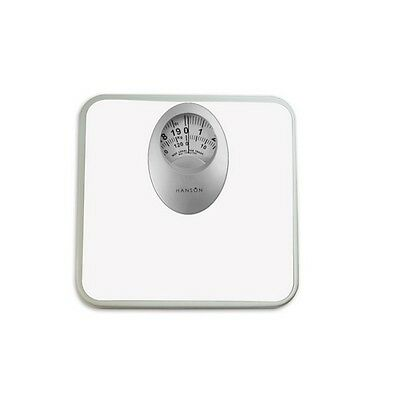 Terraillon H61 Mechanical Bathroom Scale With Magnified Display Black 120kg