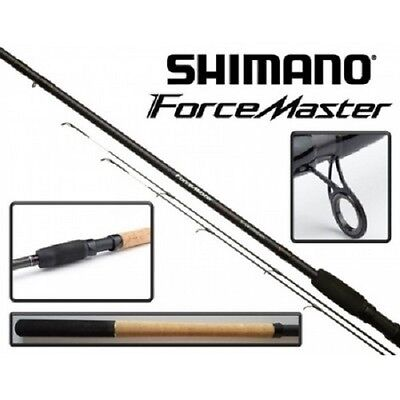 """Shimano Forcemaster 12"""" Distance Feeder Fishing Rod + 2 tips."""