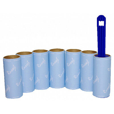 H & L Russel WS0907 Lint Roller and 6 Refills