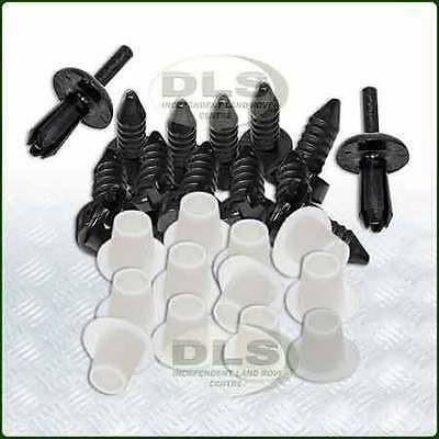 Door Trim Fixing Kit Black (1 door) Land Rover Defender (DA4649)