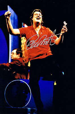 ERIC BRISTOW CRAFTY COCKNEY DARTS HAND SIGNED PHOTO AUTHENTIC GENUINE + COA 12x8