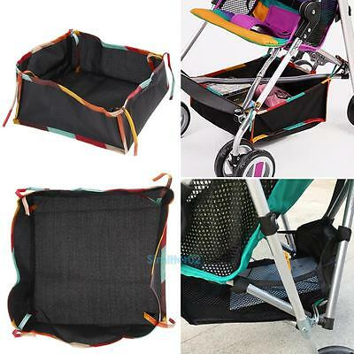 Universal Travel Baby Pram Chair Stroller Hanging Net Storage Bag Basket Holder