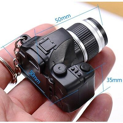 New Type Camera With Flash Light Lucky LED Luminous Keychains Creative Gifts