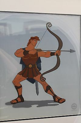 """""""hercules"""" Limited Edition Animated Art Cel"""